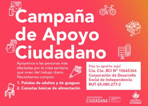 CAMPAÑA DE APOYO CIUDADANO