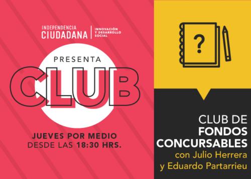 ¿TE INTERESAN LOS FONDOS CONCURSABLES? SÚMATE A ESTE CLUB Y SE PARTE DE LA COMUNIDAD DE LAPAZ482