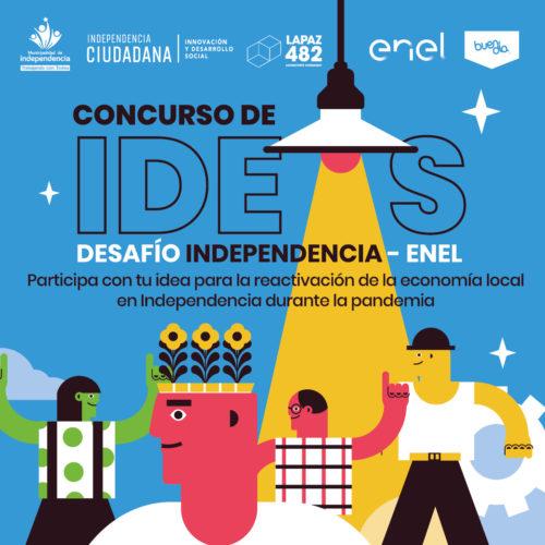 PARTICIPA EN EL CONCURSO «DESAFÍO INDEPENDENCIA-ENEL» Y GANA UN NOTEBOOK