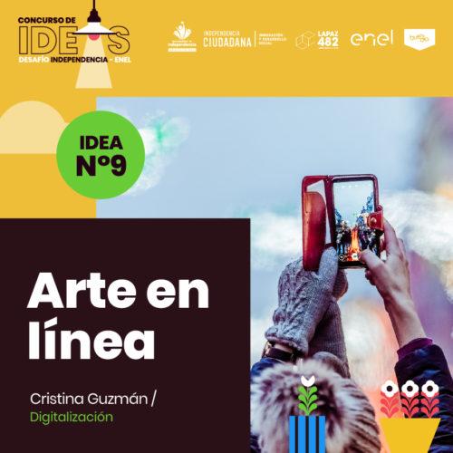 9. Arte en línea