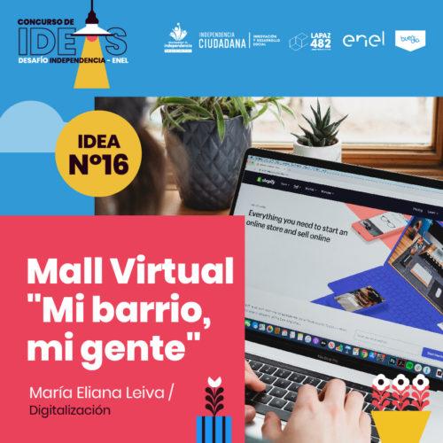 16. Mall Virtual «Mi barrio, mi gente»